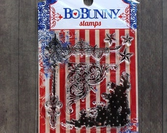 Bo Bunny Anthem Clear Stamp Set