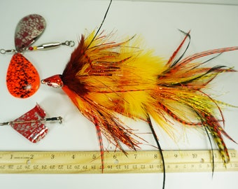 Convertible Baitcast Fly - Floating Patterns