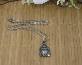 Laughing Buddha Necklace