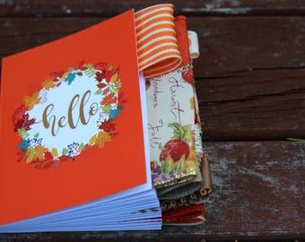 Hello Autumn Altered Journal