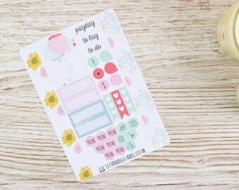 Spring Bunny Pocket Planner Kit; Weekly Kit; TN Kit; Planner Stickers; Filofax; Mini Kit; Spring Weekly Kit; Rabbit Kit; Easter Kit