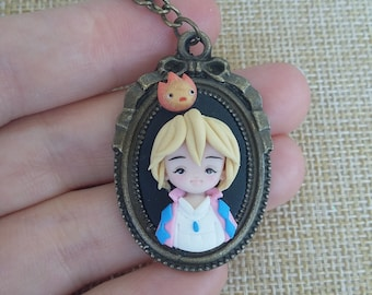 Howl necklace, ghibli studio, howl's moving castle, miyazaki Kawaii