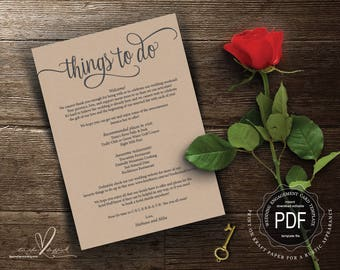 Wedding insert cards pdf template instant download for Top things to register for wedding