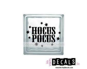 Halloween Vinyl Etsy - Halloween vinyl decals for glass blocks