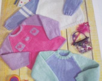 baby jumper knitting pattern