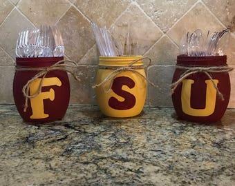 College Football Tailgating accessories/Tea light holders