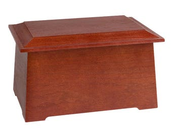 Cherry Sonata Wood Cremation Urn