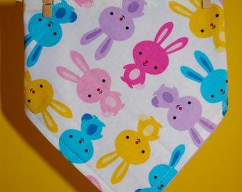 Bunny baby bandanna