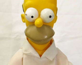 Homer Simpson Plush Doll Matt Groening The Simpsons 1990 Licensed Collectible