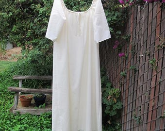 Outlander Inspired Claire Shift Womens XLg - 4X Renaissance Chemise Nightgown Custom Made