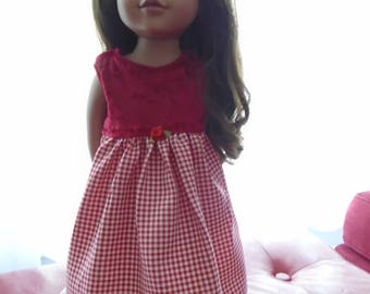 Americangirldoll doll 18 inches, doll dress