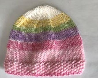 Adorable baby hat and booties