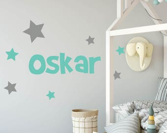 Customised Name Wall Decal For Kids' Room or Nursery