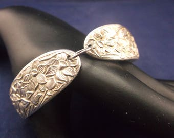 "Spoon Bracelet 1935 ""Narcissus"" Spoon Jewelry Lobster Clasp FREE SHIPPING"