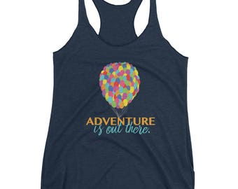 "Adventure is out there | Disney / Pixar ""Up"" Inspired Tank Top 