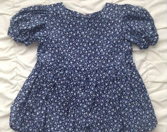 Child's Dress with Matching Bloomers