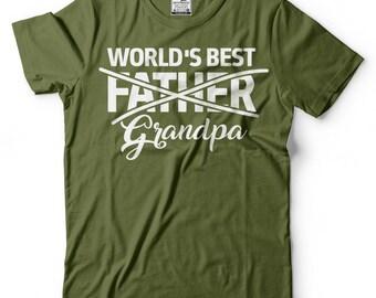 Grandpa T-Shirt Gift For Grandfather Funny New Grandpa Shirt Birthday Gift Tee Shirt