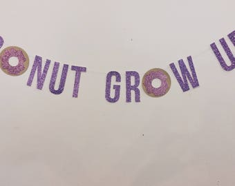 Donut Grow Up - Banner