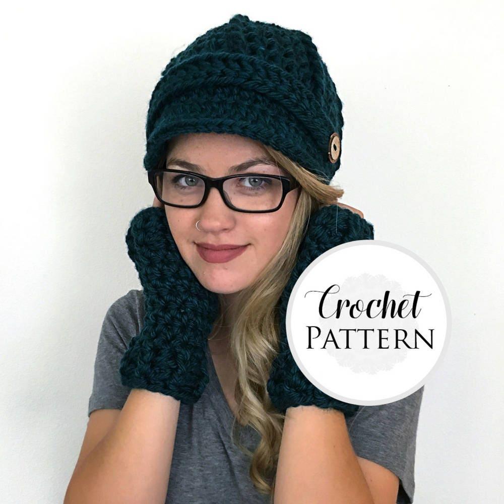 Ribbed newsboy cap crochet pattern newsboy hat pattern zoom bankloansurffo Gallery
