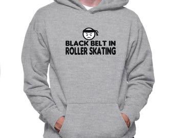 Black Belt In Roller Skating Hoodie