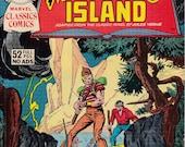Marvel Classic Comics #11 Mysterious Island - November 1976 - Marvel Comics - Grade VG/F