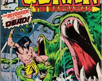 Conan the Barbarian #86 - Marvel Comics - May 1978 - Grade G
