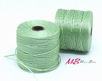 Mint S-Lon Macrame Cord 77 Yards, Nylon Beading Cord .5 mm