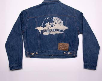 Rarest Vintage Fiorucci Denim Angels Jacket