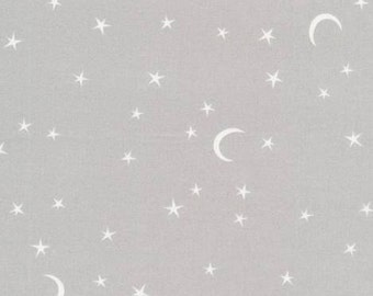 Organic Cotton Crib and Mini crib Sheets including Arms Reach 4moms breeze Bloom baby playards etc Stars twinkle moon constellations gray