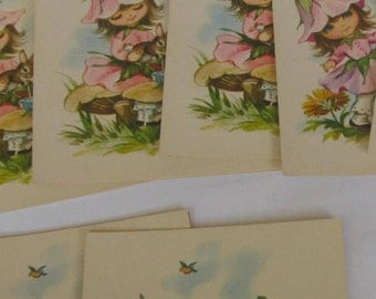 Bonnie Blossom  Cards with Envelopes - 1976   collectables