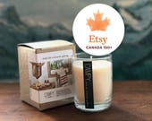 Soy Candle: A Canadian Getaway