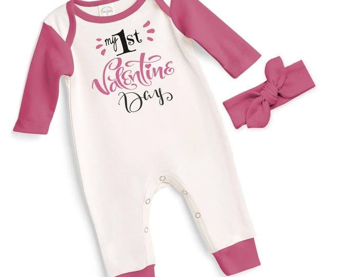 baby girl my first valentines romper gray newborn baby valentine bodysuit infant valentines onesie
