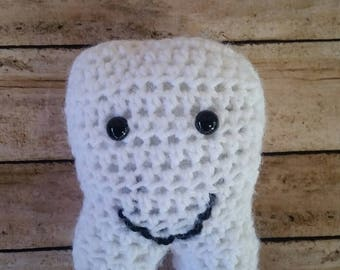 Crochet Tooth Fairy Pillow; Tooth Fairy Pillow