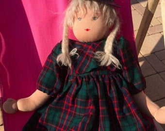Large Rag Doll Tina approx. 60 cm