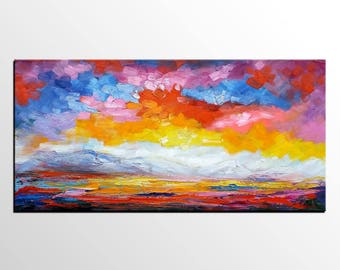 Abstract Painting, Abstract Art, Large Art, Oil Painting, Canvas Art, Large Wall Art, Canvas Painting, Landscape Painting, Original Painting
