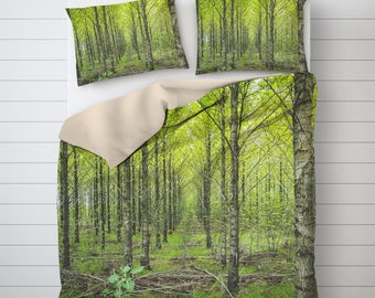 Forest Duvet Cover, Nature Bedding, Photo Bedding Art, Best Duvet Covers, Twin Duvet Covers, Bedding Sets, Photo Print