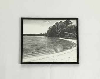 Black and White Print, Beach Decor, Landscape Photography, Black and White Wall Art, Christmas Gift, 8X10 print, 11x14 Print, 16x20 Print