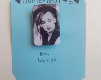 Boy George brooch/pin