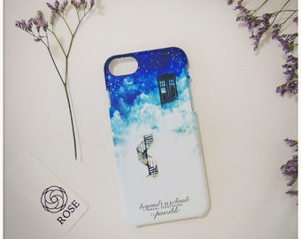 Phone Case - Doctor Who   Beyond the clouds (iPhone & Samsung Galaxy)