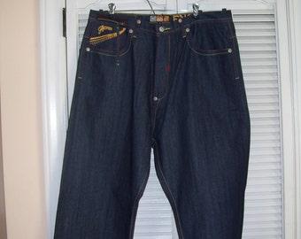Vintage Akademiks Hip Hop Jeans/Baggy Jeans/Loose Jeans