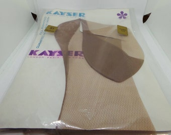 Fully Fashioned Seamed Nylons, Vintage Kayser Stockings in original packaging