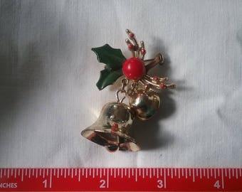 Vintage Jingle Bell Brooch