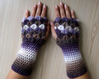 EXPRESS SHIPPING! dragon scale gloves, winter gloves, christmas gift, gift for her, gift for christmas, women gift, sister gift/ Formalhouse