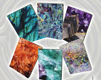 Crystal Notebooks - Small or Large, Lined or Unlined [Made-to-Order]