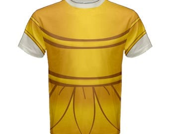 Men's Lumiere Beauty and the Beast Inspired Disneybound Shirt