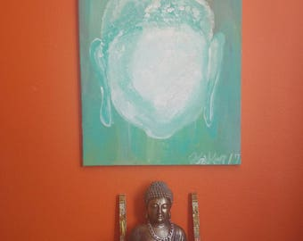 Beautiful - FACELESS- Buddah Portrait