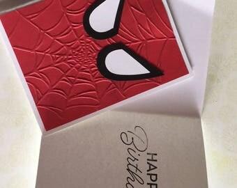 Spider-Man birthday card
