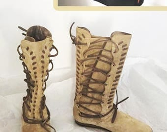 Hercules boots and belt/Movie boots