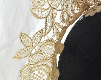 Golden Lace Crown