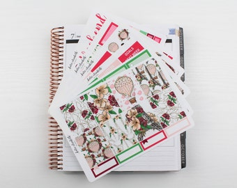 J'Adore Paris Individuals Sheets || Planner Stickers
